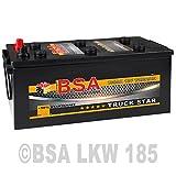 LKW Batterie 185Ah 12V 1200A Starterbatterie ersetzt...