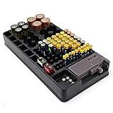 Batterie-Organizer - Kapazität 98 Batterien +...