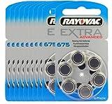 Rayovac 675EA Hörgerätebatterien 10x6er