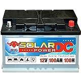 Solarbatterie 100Ah BIG Batterie Wohnmobil Boot Jacht...