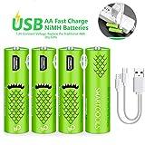 Wiederaufladbare AA-Batterien, wiederaufladbare...