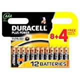Duracell Batterie Plus Power Micro AAA 8er + 4 gratis...