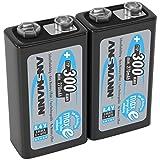 ANSMANN LSD 9V Akkubatterie/Typ 300mAh /...