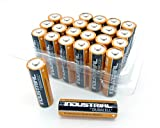 24 Duracell Industrial Mignon AA Batterien Alkaline 400...