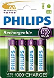 Philips Multi Life NiMH Akku AA Mignon 1300 mAh 4er...