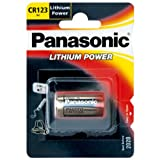 Panasonic CR123A Photo Power Lithium Batterie 10-Pack,...