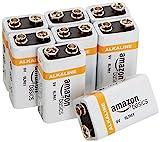 AmazonBasics Everyday Alkalibatterien 600 mAh, 9V, 8...