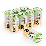 Batterien D/Mono/LR20, GP Super Alkaline, 1,5V, 8...