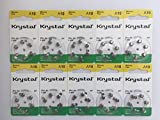 Krystal 60 Stück (6 * 10) A10 (PR70)...