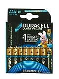 Duracell Ultra Power Typ AAA Alkaline Batterien, 16er...