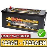 BSA LKW Batterie 180AH SHD Starterbatterie 12V...