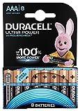 Duracell Ultra Power Typ AAA Alkaline Batterien, 8er...