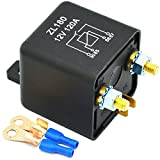 Ehdis 12V 120A 4 Pin Auto Relay Black Box Batterie für...