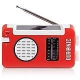 Duronic Hybrid Radio AM / FM – Solarenergie und...