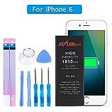 Flylinktech Akku für iPhone 6 mit Werkzeugset 1810 mAh...