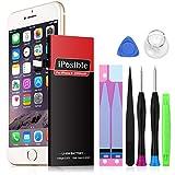 iPhone 6 Akku mit Reparaturset, iPosible 2200 mAh...