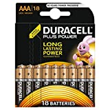 Duracell Plus Power Typ AAA Alkaline Batterien, 18er...