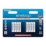 Panasonic eneloop, Ready-to-Use NI-MH Akku, AAA Micro,...