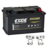 Gel Batterie ES 900 12V 80Ah Akku Exide inkl....