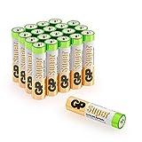 Batterien AAA Micro GP Super Alkaline Vorratspack 20...