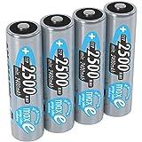 ANSMANN wiederaufladbare Akku Batterien Mignon AA 1,2V...