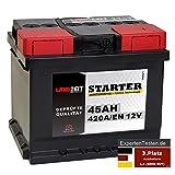 LANGZEIT STARTER Serie 12V 44Ah - 105Ah Autobatterie...
