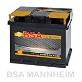 BSA Autobatterie 12V 47AH 400A/EN ersetzt 44Ah 45Ah...