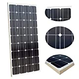 ECOWORTHY 100 W Solarpanel,12 V, monokristallines...