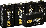Batterien Lithium 9 Volt Block, 9v E-Block (U9VL,...