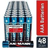 ANSMANN Batterien AAA 48 Stück - Alkaline Micro...