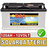 BSA Solar DC 12V 120Ah Solarbatterie Schiff Boot Marine...