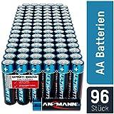 ANSMANN Batterien AA 96 Stück - Alkaline Mignon...