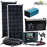 Solaranlage Autark M-Master 200W Solar - 1000W AC...