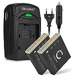 CELLONIC 2X Akku kompatibel mit Samsung DigiMax i5 i50...