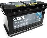 Exide EA900 Premium Carbon Boost Autobatterie 12V 90Ah...