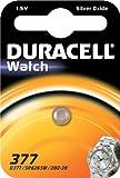 Duracell 377SR626SW SB AG41,55V Silberoxid...