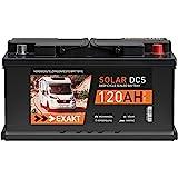 Solarbatterie 120Ah 12V EXAKT DCS Wohnmobil Versorgung...