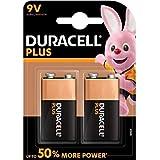 Duracell Plus Power Alkaline Batterien 9V (MN 1604) 2er...