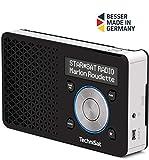 TechniSat DIGITRADIO 1 – tragbares DAB+ Radio mit...
