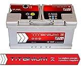 Auto Batterie Fiamm L5100+ Titanium Plus 100Ah...