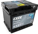 Exide EA472 Premium Carbon Boost Autobatterie 12V 47Ah...