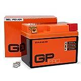 GP-Pro 12V 5Ah GEL Motorrad Batterie GTX5L-BS,...