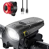 LIFEBEE LED Fahrradlicht, USB Fahrradbeleuchtung...