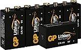 GP Lithium 9V Block Batterien, 9 Volt Lithium Li-MnO2,...