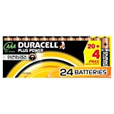 Duracell DUR019058 Plus AAA Batterien (24 Stück)
