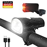 LIFEBEE LED Fahrradlicht, LED Fahrradbeleuchtung StVZO...