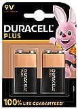 Duracell - Batterien 9 V Plus, 2 Stück