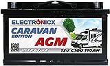 Electronicx Caravan Edition Batterie AGM 110AH 12V...