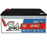BIG AGM 240Ah 12V Solar Batterie Versorgung Mover...