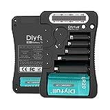 DLYFULL LCD Universal Batterietester für AA,...